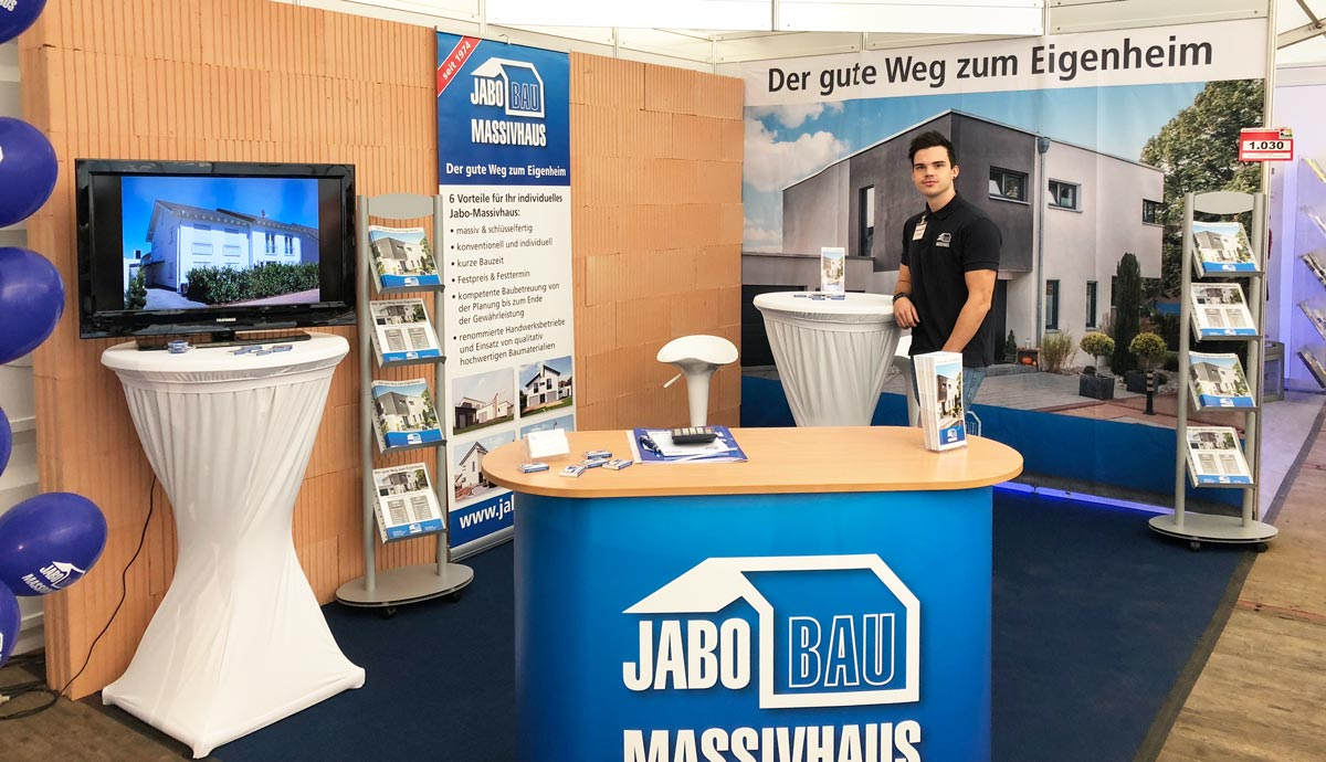 Messestand 2018 weg